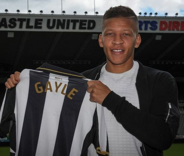 New Signing Dwight Gale Poses For A Photograph