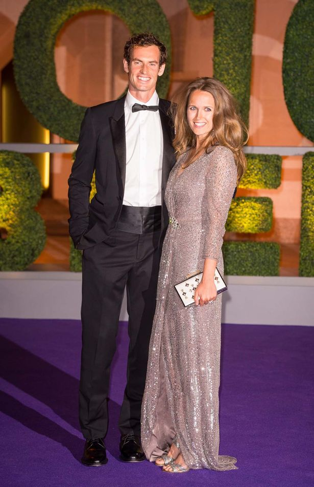 Kim Sears Steals The Show With Thigh High Split As She Joins Andy Murray For Champions Dinner