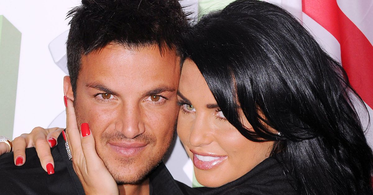 Katie Price says Peter Andre is the love of her life