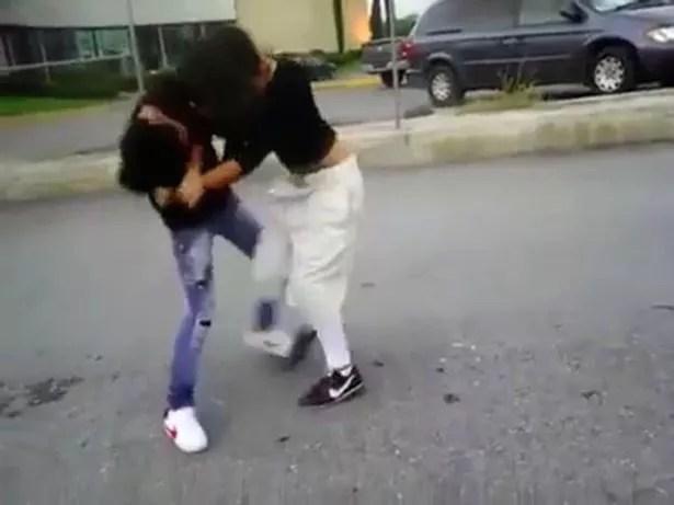 rival girl gangs square