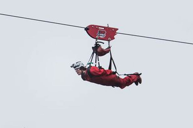 4 man zip wire wales moroso switch panel wiring diagram dies at 2 000ft uk line days before two staff members ambulances were called about 8 30am and the velocity adventure was closed image daily post
