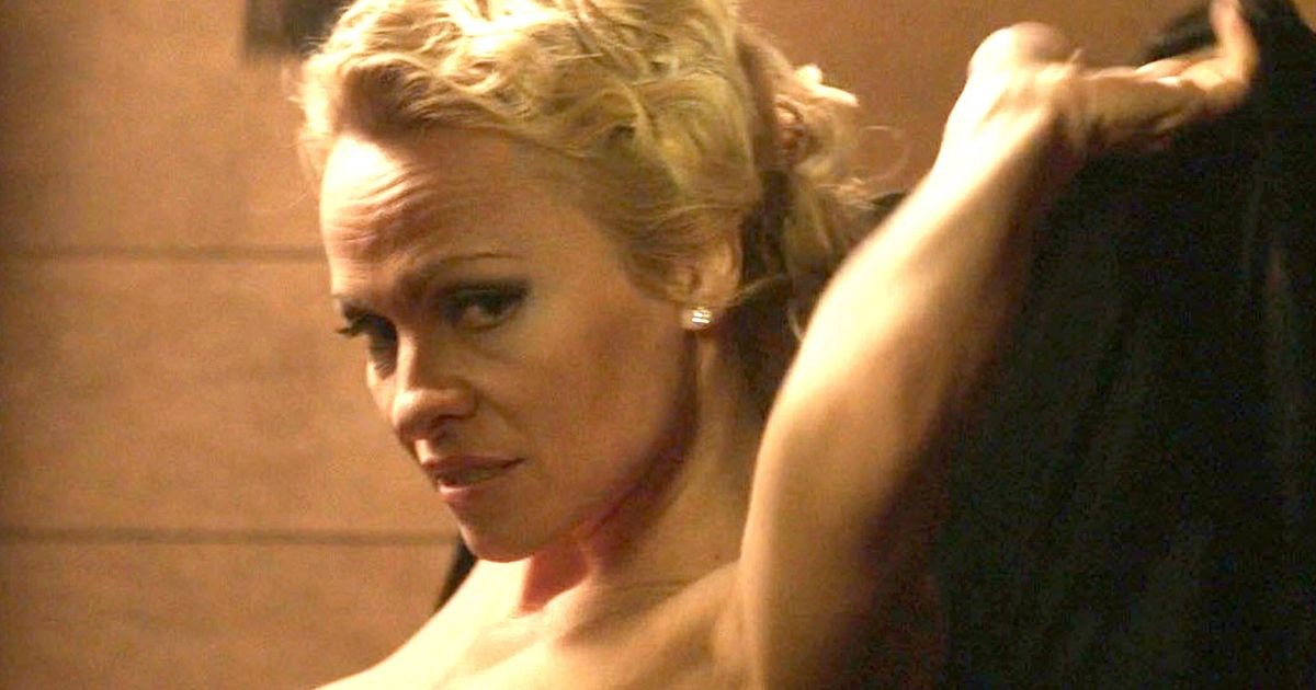 Pamela Anderson bends over naked as she bares all in new