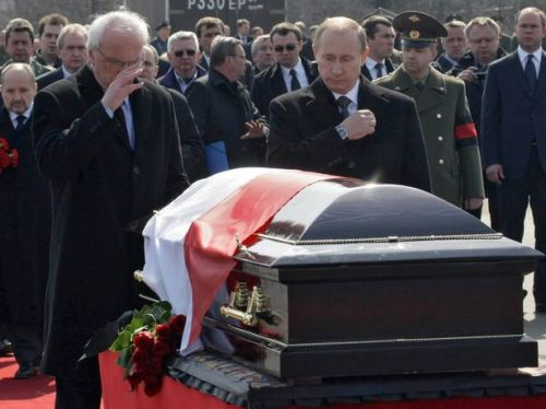 polish president killed in russia