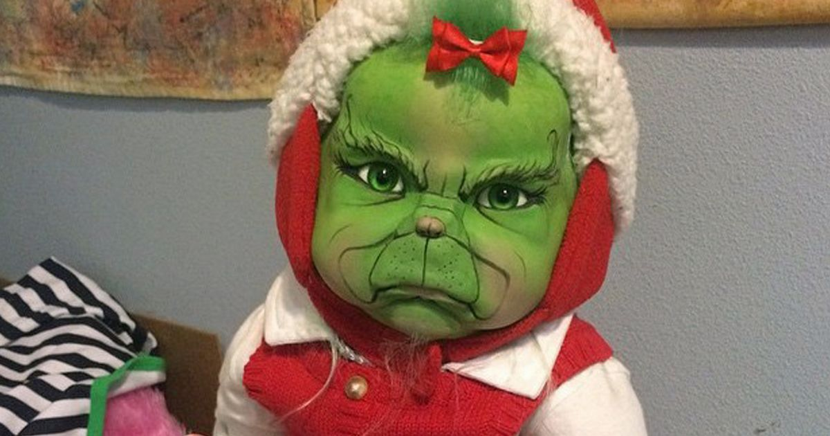 Cute Local Girl Wallpaper Mum Makes Creepy Vampire Zombie And Grinch Dolls That