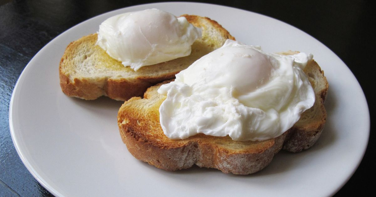 The one crucial rule for perfect poached eggs  and its