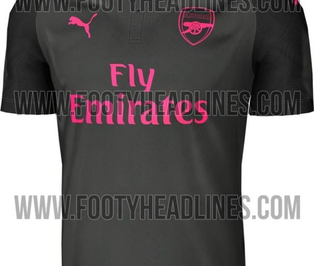The Gunners Might Be About To Rebrand As The Pink Panthers Image Footyheadlines Com