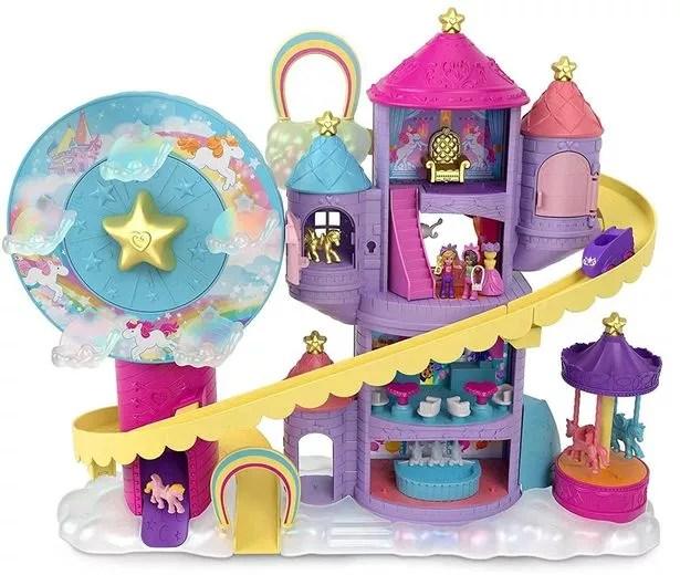 The Polly Pocket Rainbow Funland is a nostalgic entry on this year's festive list