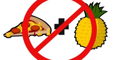 Image result for pineapple on pizza no