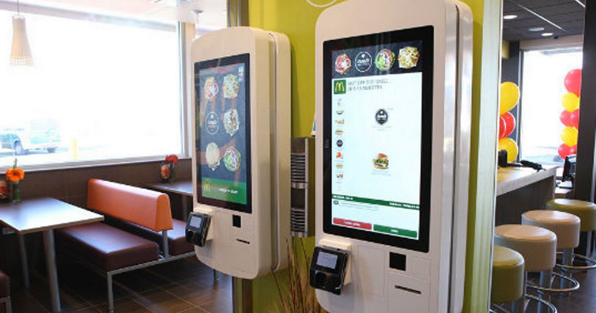Clappy Meal McDonalds launches futuristic touchscreen kiosks in UK outlets  Mirror Online