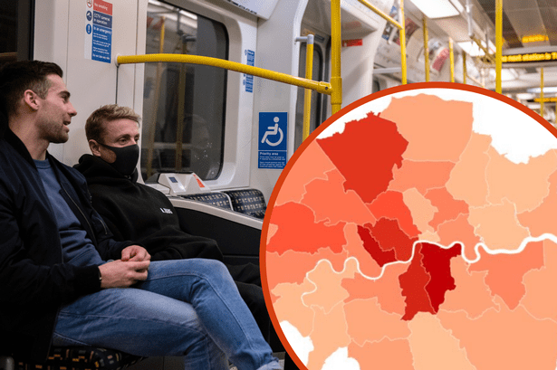 London coronavirus map: London cases double as every borough has ...