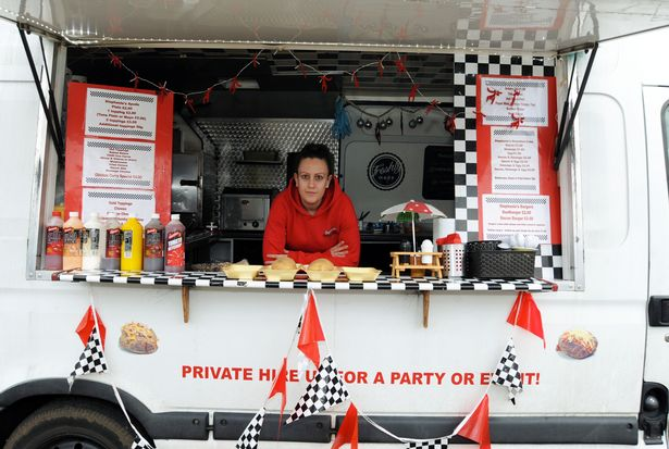 Mum with jacket potato van offered 200 compensation after