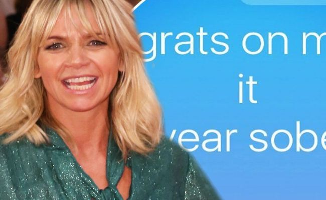 Zoe Ball Thanks Her Supportive Family As She Celebrates