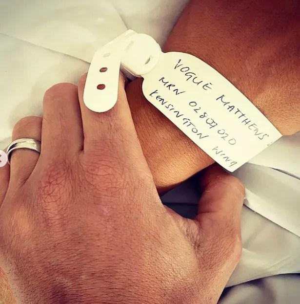 Vogue y Spencer le dieron la bienvenida a su hija Gigi el mes pasado