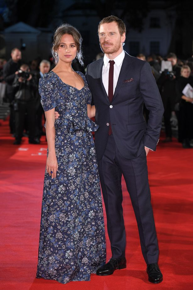 Alicia Vikander is said to have confirmed she has welcomed her first child with husband Michael Fassbender