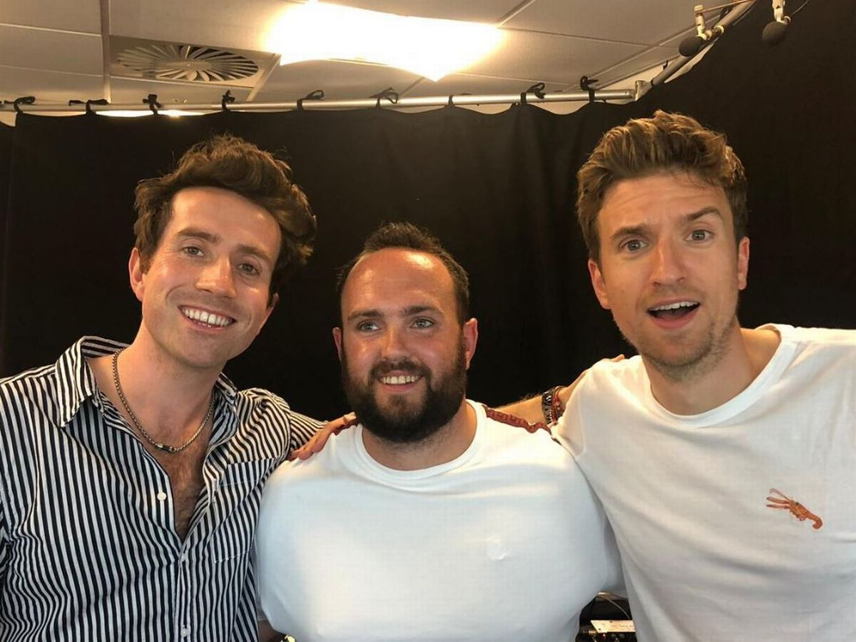 Radio 1 Djs Nick Grimshaw And Greg James Found After Epic