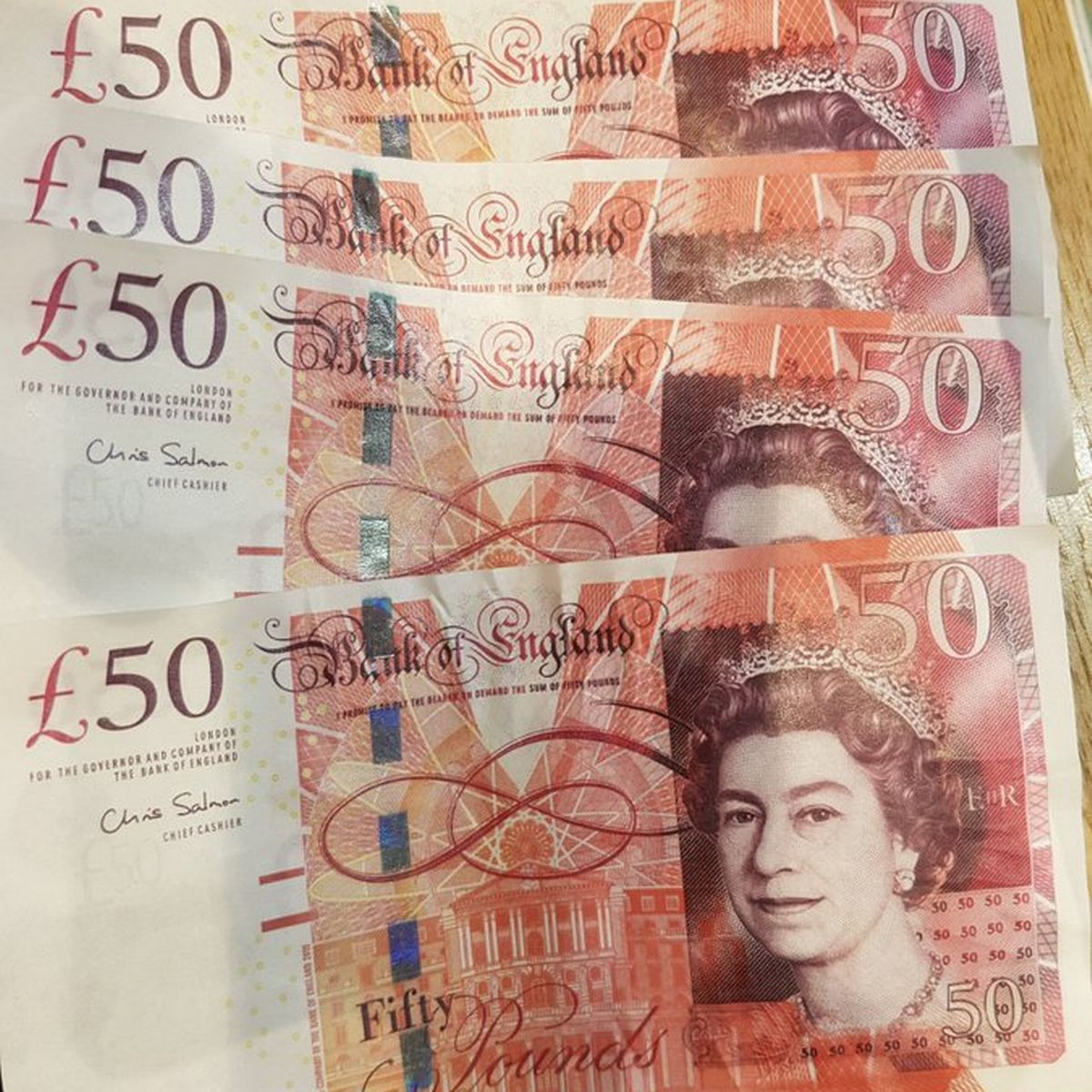 50*50 Fake £50 Notes Found By Police In The West Country - Here's How To Spot Bogus Cash - Somerset Live