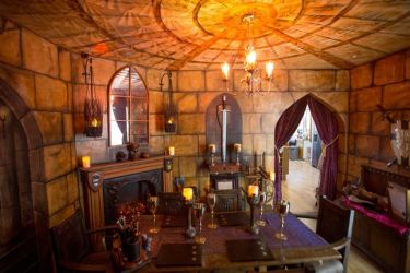 Couple completely transform interior of Somerset home into medieval castle Somerset Live