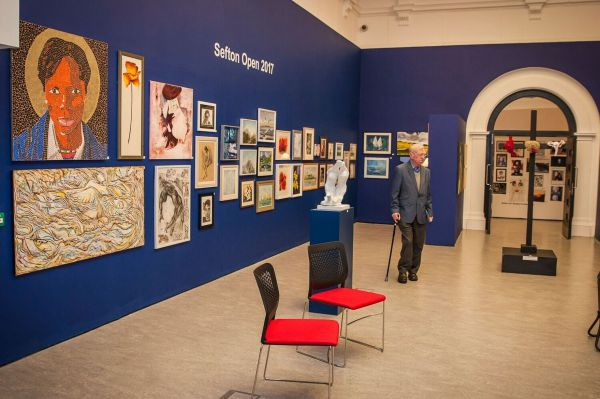 Sefton Open 2017 Art Exhibition Atkinson In Southport - Visiter