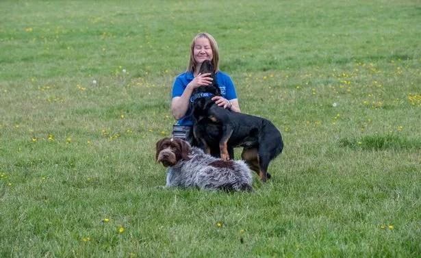 Vicki Burton at the Burton Meadow facility