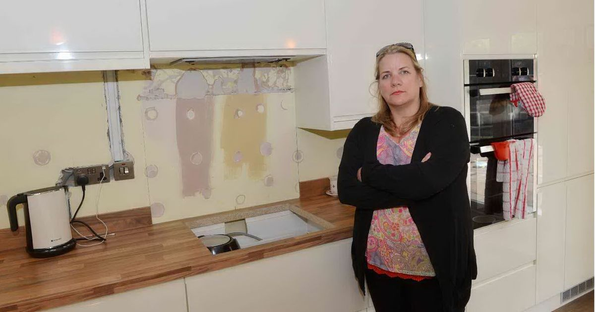 mobile home kitchens granite kitchen table angry customer: 'why have i waited 12 months for my £12k ...