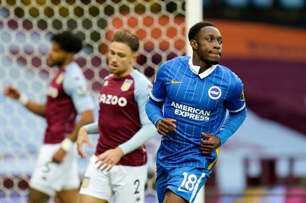 Brighton player ratings vs Aston Villa as Welbeck secures history for  Graham Potter's side - SussexLive