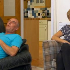 Posture Armchair Gray Arm Chair Covers Gogglebox Has Got A New Welsh Bloke...and The Internet Is Worried About His - Wales Online