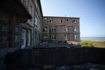 Crumbling St David' Hotel Harlech