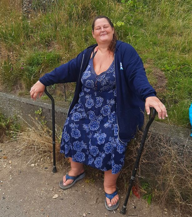 After her weight spiralled to 40 stone, Kathleen struggled to walk or even stand unaided