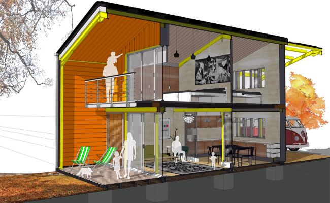 Cardiff Architect Designs Self Build Home Which Costs Just