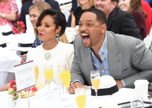 Mandatory Credit: Photo by Michael Buckner/Variety/REX/Shutterstock (5505617p) Jada Pinkett Smith and Will Smith Variety's Creative Impact Awards and 10 Directors to watch Brunch Presented by 'Mercedes Benz', Palm Springs, America - 03 Jan 2016