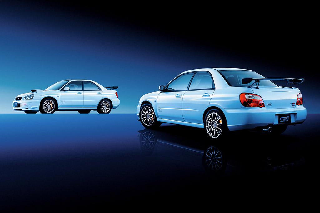 Subaru Impreza STI La Saga