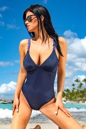 reducere Costum de baie intreg Kamala Blue, cel mai mic pret