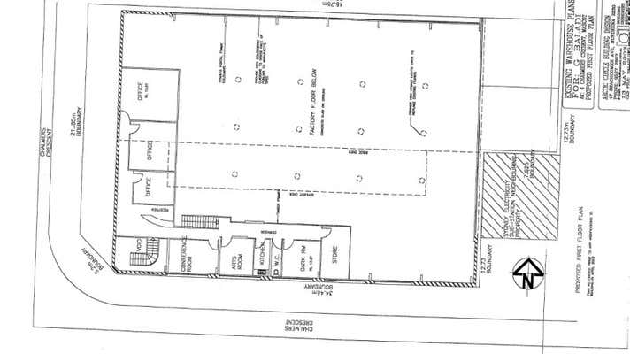 Leased Industrial & Warehouse Property at 4 Chalmers