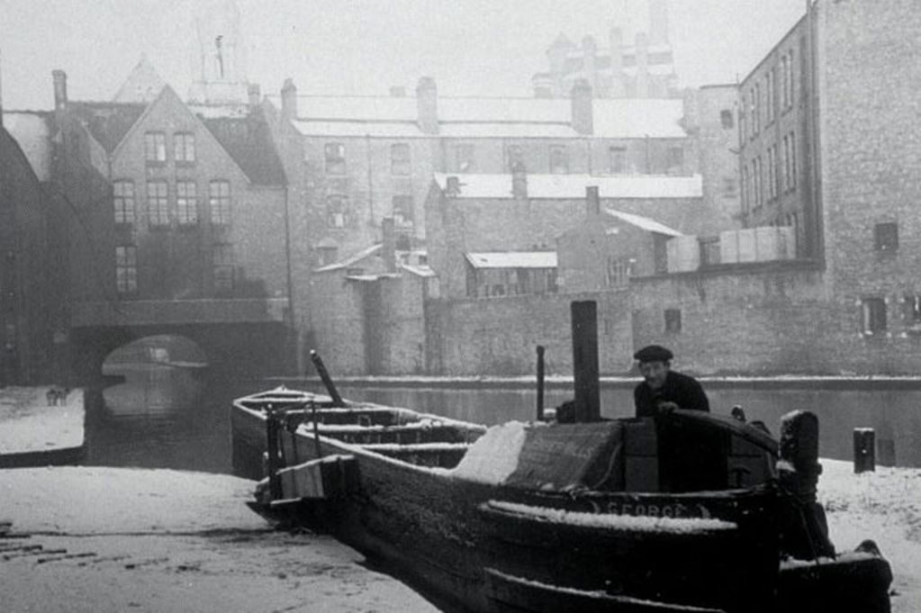 Gas Street Basin in the 1950s