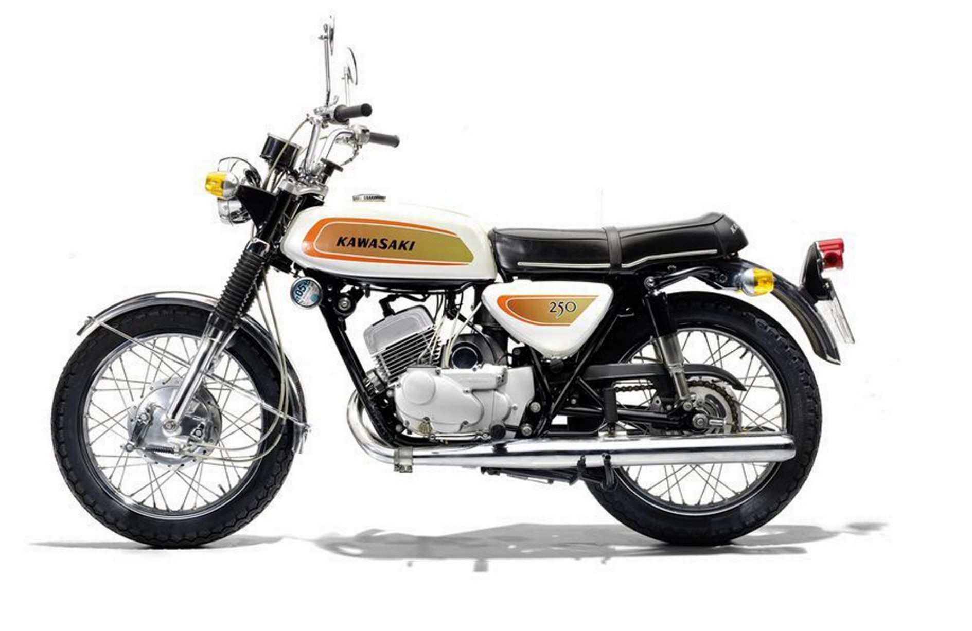 The motorbikes of James May and Richard Hammond that up