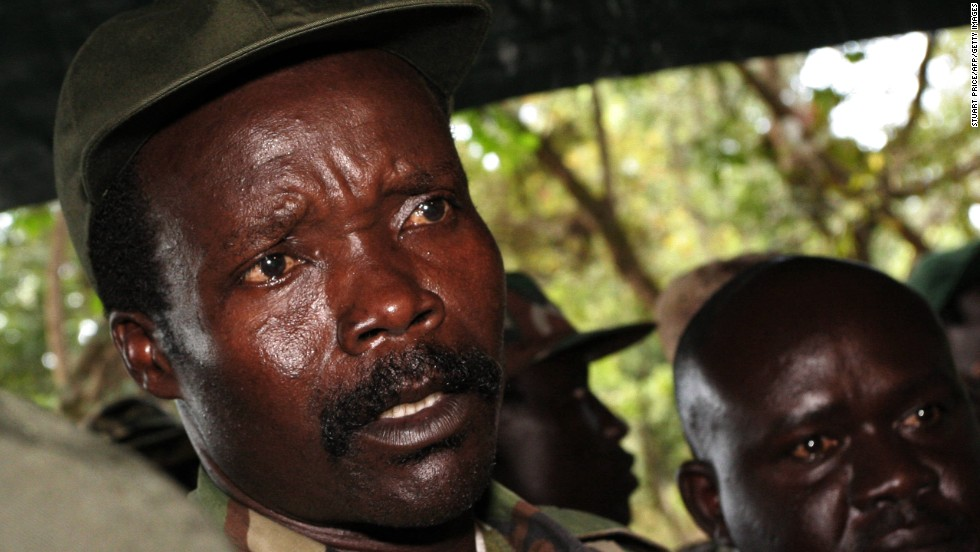 Militant leader Joseph Kony, seen here in a 2006 photo, is accused of killing thousands of people and abducting children to use as soldiers in his army.