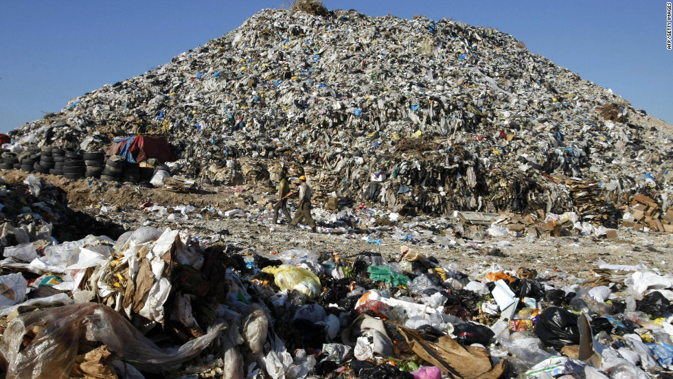 Image result for landfill mountain