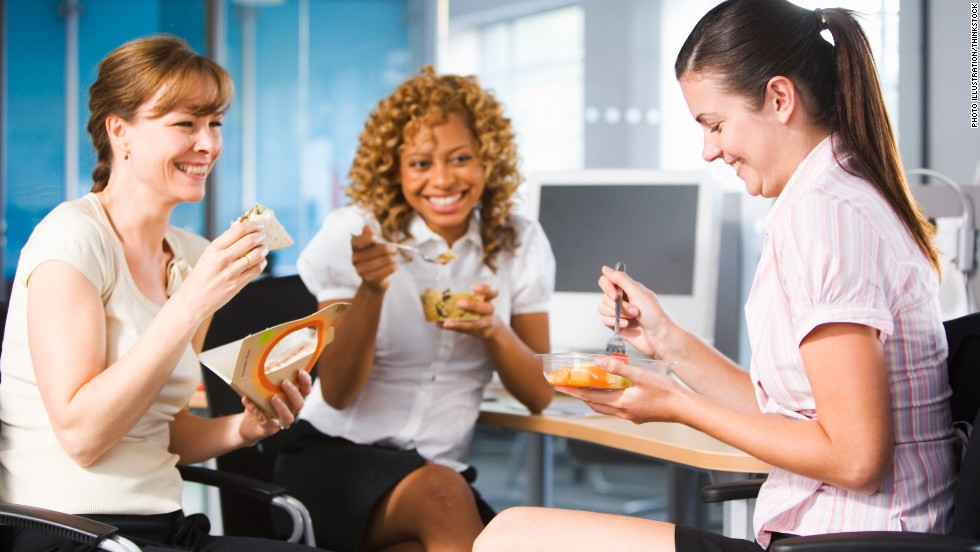 Image result for workplace eating right