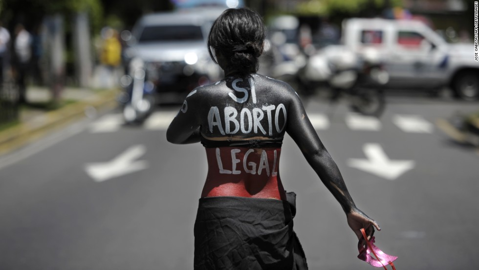 A bill calling for the relaxation of El Salvador's abortion law is under consideration, but has yet to come to a vote.