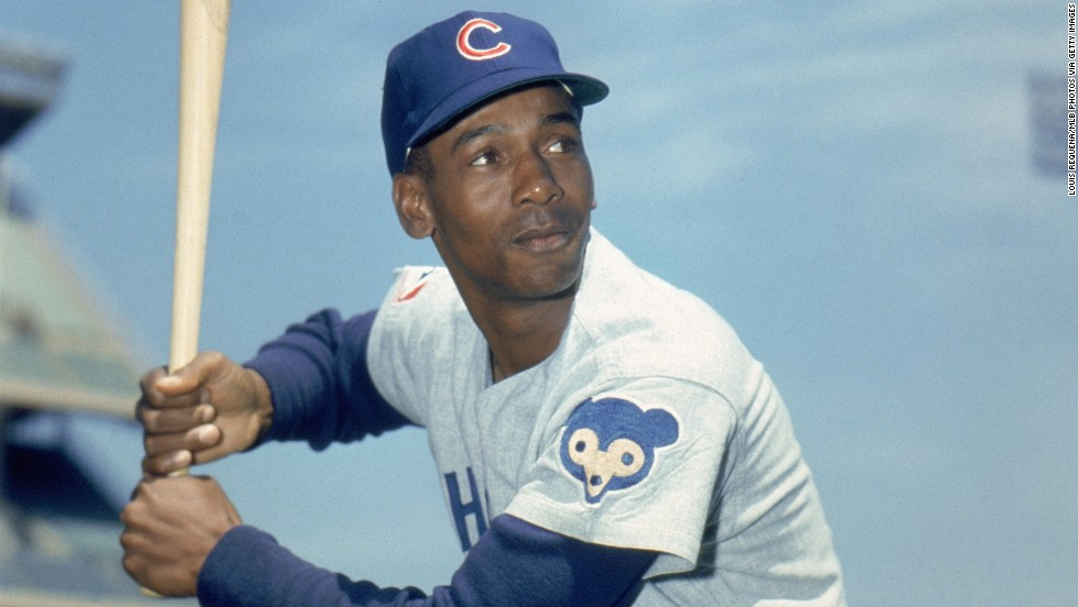"""Former Chicago Cub Ernie Banks is being honored for his impressive career as a baseball player. """"During his 19 seasons with the Chicago Cubs, he played in 11 All-Star Games, hit over 500 home runs, and became the first National League player to win Most Valuable Player honors in back-to-back years,"""" according to the White House."""