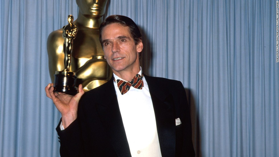 Image result for jeremy irons oscar