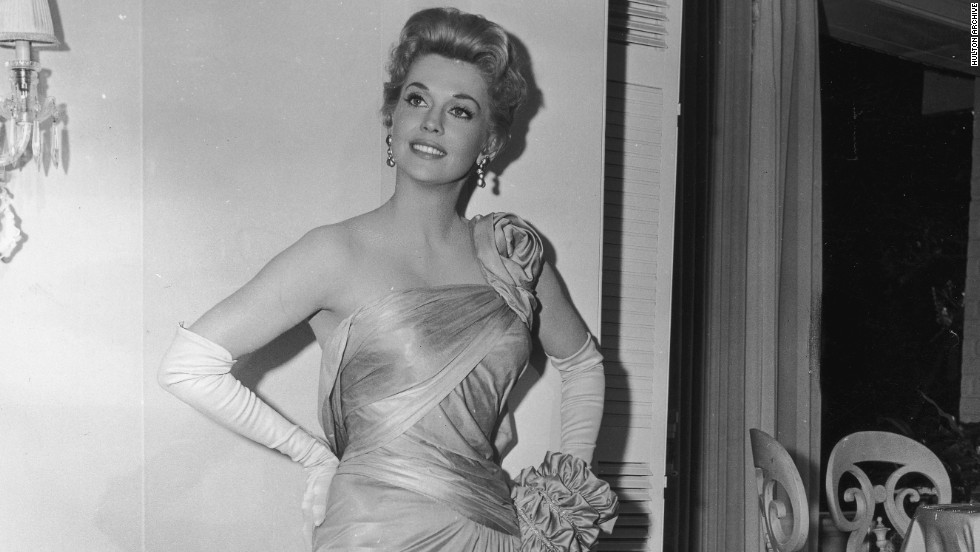 "Donna Douglas about 1960, before she became part of ""The Beverly Hillbillies."""
