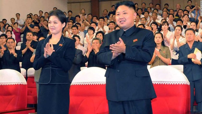 Image result for kim jong-un Ri Sol-ju