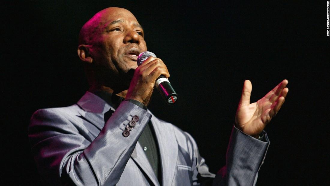 Errol Brown performs in 2004.