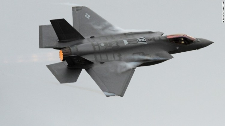 The single-engine F-35A is the Air Force's eventual replacement for the F-16 and the A-10. The supersonic jets, which will be able to conduct air-to-air and air-to-ground attacks, are just beginning to enter the Air Force fleet.