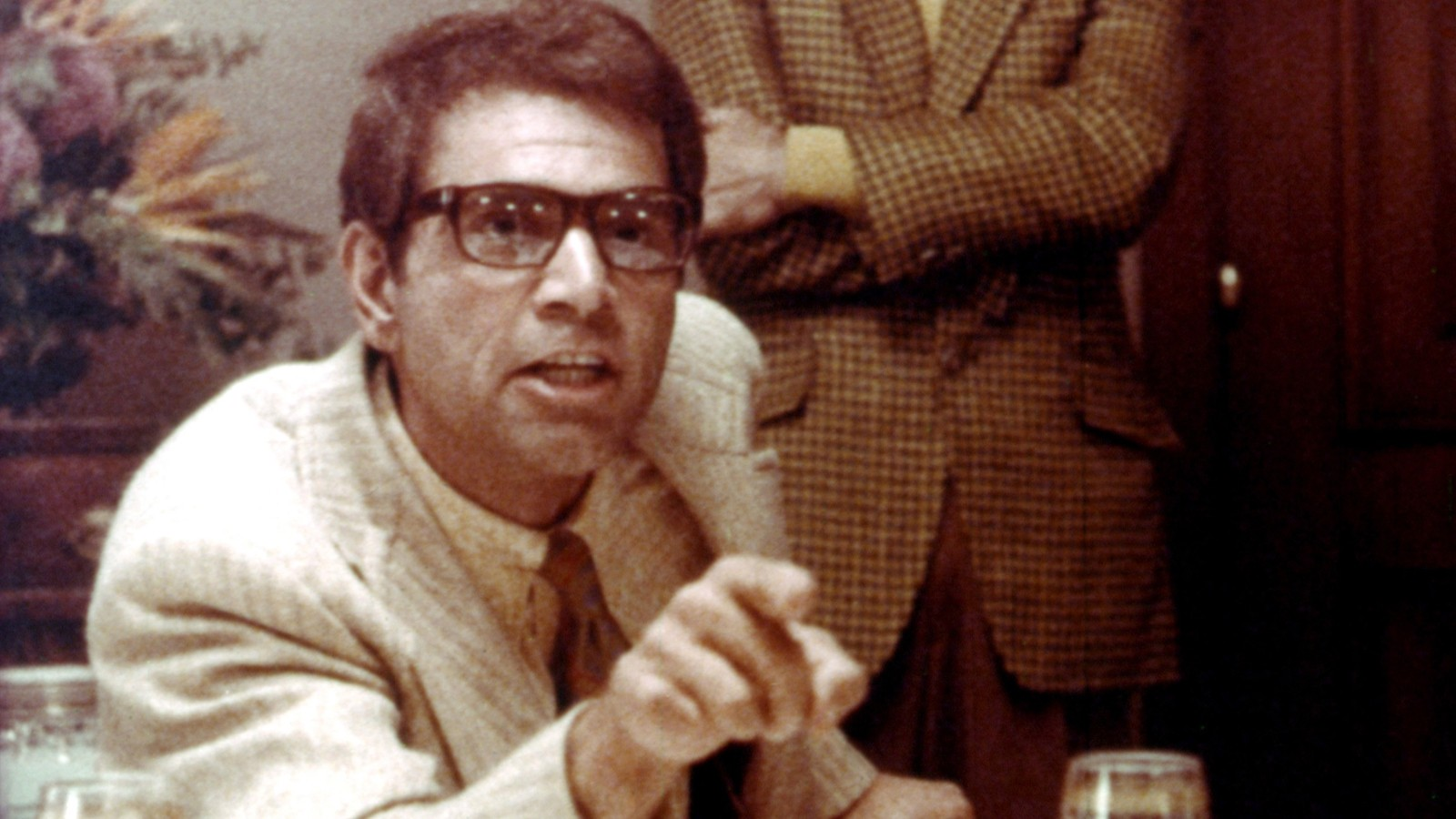 "Alex Rocco playing mobster Moe Greene in ""The Godfather"""