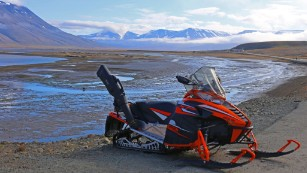 """I will get a snowmobile to travel beyond this settlement,"" says student Paul Petersik, from Germany. ""I love spontaneity with the outdoors and Longyearbyen is a dream travel launchpad."""