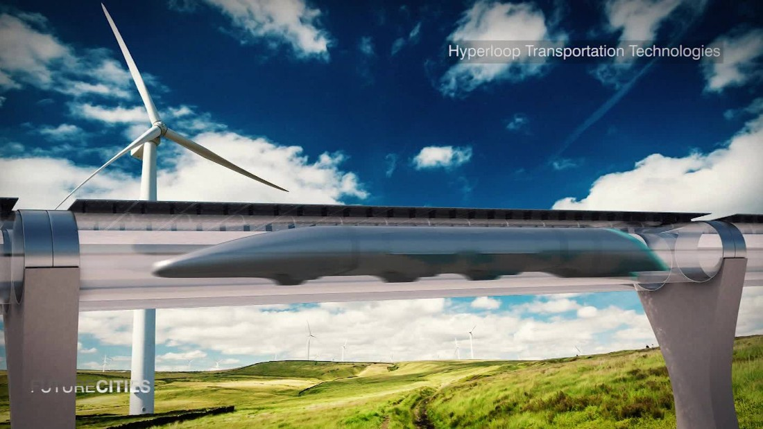 Hyperloop: How to travel at 720mph in a vacuum