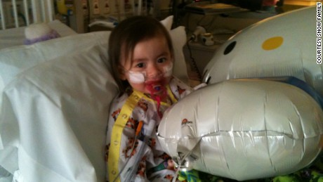 In January 2013, Julianna spent 11 days in the hospital struggling to breathe, most of it in the intensive care unit.