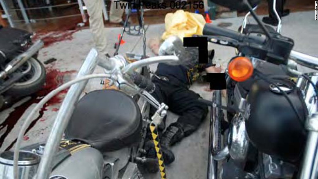 Image result for twin peaks biker shootout